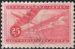 1954 Air. Sugar Industry -  25c. Evaporators FU - Posta Aerea