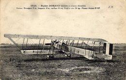 Biplan De Commandant DORAND Blindé A Plans Décales  -  CPA - ....-1914: Précurseurs