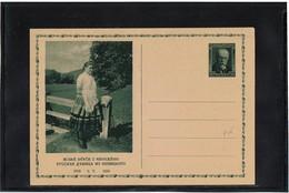 FAL10- TCHECOSLOVAQUIE - CARTE POSTALE ILLUSTREE MICHEL N° 56 TTB - Postal Stationery