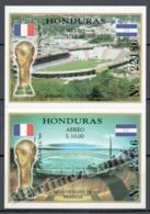 Honduras 1998 Yvert BF 55-56, Football, France World Cup 98 - MNH - Honduras