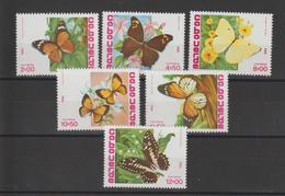 Cap Vert 1982 Papillons Série 465-70 6 Val ** MNH - Kap Verde