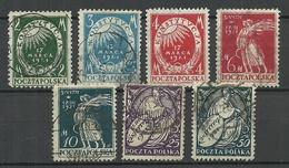 POLEN Poland 1921 Michel 164 - 170 O - 1919-1939 República
