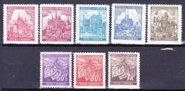 Boheme Et Moravie 1941 Mi 65-72 (Yv 50-1 Ex), (MNH)** - Unused Stamps