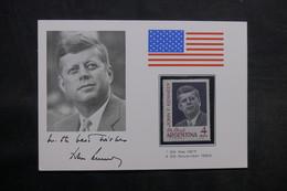 ARGENTINE - Carte Souvenir De Kennedy - L 33404 - Argentinien