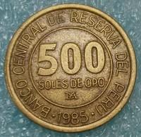 Peru 500 Soles, 1985 -0773 - Pérou