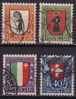 Switzerland / Schweiz / Suisse : 1923 Pro Juventute Michel 185 / 188 - Pro Juventute