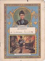 QUADERNO SCOLASTICO TROMBINI BATTISTA 1932 AUTENTICO 100% - Libros, Revistas, Cómics