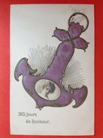 RELIEF - GAUFREE - 365 JOURS DE BONHEUR - ANKER - ANCRE - Nouvel An