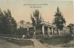 Hotel Rasmussen Con Sus Chalets San Bernardino Editor Gruter . P. Used To Montevideo - Paraguay