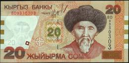 KYRGYZSTAN - 20 Som 2002 {Kyrgyz Banky} UNC P.19 - Kyrgyzstan