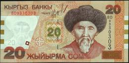 KYRGYZSTAN - 20 Som 2002 {Kyrgyz Banky} UNC P.19 - Kirgisistan