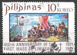 1972 10s First Mass, Used - Philippines