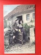 Illustrateur SCOLIK - VERLIEFD KOPPEL - JAGER - GEWEER - COUPLE - CHASSEUR - FUSIL - Scolik, Charles