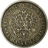Monnaie, Finlande, Nicholas II, Markka, 1890, TTB, Argent, KM:3.2 - Finlandia