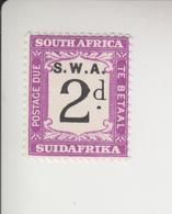 Zuid-West-Afrika Michel-cat. Porto 83 * - Südwestafrika (1923-1990)