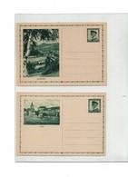 FAL10- TCHECOSLOVAQUIE - 19 CARTES POSTALES ILLUSTREES DE LA SERIE MICHEL N° 64 - Postal Stationery