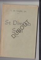 Boek GEEL /GHEEL St Dimfna Spel -  1950 -  J. De Voght (N725) - Livres, BD, Revues