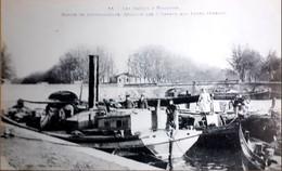 Les Canaux à Toulouse Bassin De L'embouchure Réunion Des 3 Canaux Aux Ponts Jumeaux - Toulouse