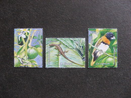 Polynésie: TB Série N° 1019 Au N° 1021 ,neufs XX . - Polynésie Française