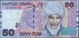 KYRGYZSTAN - 50 Som 2002 {Kyrgyz Banky} UNC P.20 - Kirgizïe