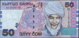 KYRGYZSTAN - 50 Som 2002 {Kyrgyz Banky} UNC P.20 - Kirghizistan
