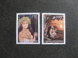 Polynésie: TB Paire N° 1017 Et N° 1018, Neufs XX. - Polynésie Française