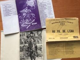 3 POCHETTES Séries Cartes Postales Dont Puzzle NAPOLEON - état D'usage (voir Scan) - Fantaisies
