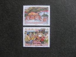 Polynésie: TB Paire N° 1013 Et N° 1014, Neufs XX. - Polynésie Française