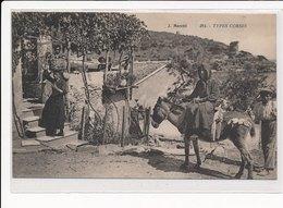 CORSE : Types Corses, âne - Tres Bon Etat - France