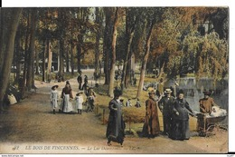 CPA (75) PARIS.  Le Bois De Vincennes, Le Lac Daumesnil, Animé, Landau Ancien. ..I 621 - Parcs, Jardins