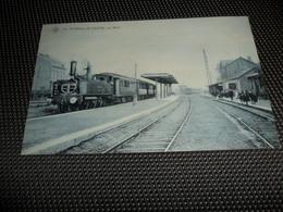 Flémalle - Haute  La Gare  Station  Statie  S B P N° 10  - Train à Vapeur  Trein  Locomotief - Flémalle