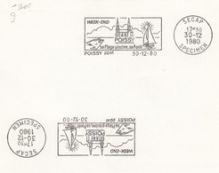 SPECIMEN SECAP - POISSY WEEK-END - 30.12.1980   / 1 - Poststempel (Briefe)