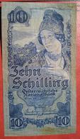 10 Schilling 2.1.1933 (WPM 99) / Wachauerin + Pasterze Großglockner - Austria