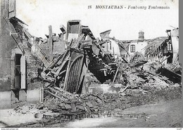 CPA (82) MONTAUBAN. Inondations Du Midi (1930). Faubourg Toulousin. ..I 201 - Montauban