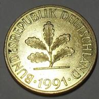 1991 - Allemagne - Germany - RFA - 10 PFENNIG (J) KM 108 - 10 Pfennig
