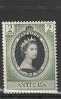 Antigua Neuf **  1953  N° 103  Couronnement D'Elisabeth II - Antigua And Barbuda (1981-...)