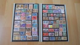 Rest Italien / Vatikan Mit 910 Marken - Stamps