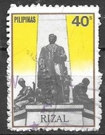 1981 40s Rizai Monument, Used - Philippines