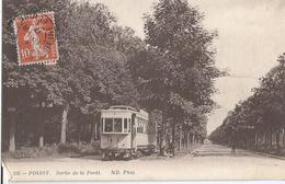 CPA 237 - Tramway -- Poissy Sortie De La Forêt - Tramways
