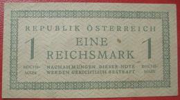 1 Reichsmark N. D. (1945) (WPM 113) Republik Österreich - Austria