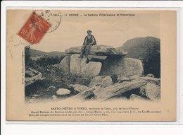 SANTO-PIETRO Di TENDA : Le Nebblo Pittoresque Et Historique, (casta) - Dolmen - Etat - Bastia
