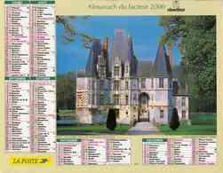 °° Calendrier Almanach La Poste 2000 Oberthur - Dépt 05 - Châteaux - Calendriers