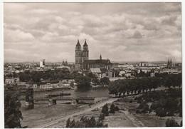 AK SW 1961 Magdeburg, Elbe Dom, NEU, Echt Foto A1062, 2 Scans, 14,5 X 10,3 Cm, Verlag KONSUM FOKU III/18/6 N 2/61 - Magdeburg