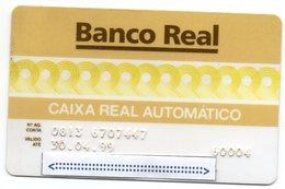 MEC.62 / BRASIL -  CREDIT CARD / BANCO REAL S.A.  / MULTEBANCO - Cartes De Crédit (expiration Min. 10 Ans)