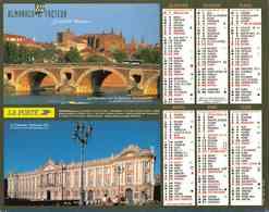 °° Calendrier Almanach La Poste 2006 Cartier Bresson - Dépt 06 - Vues De Toulouse Et Du Mercantour - Groot Formaat: 2001-...