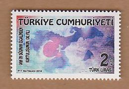 AC - TURKEY STAMP - 100th ANNIVERSARY OF LIBERATION OF VAN FROM THE ENEMY INVASION THEMED DEFINITIVE STAMP MNH 2018 - Nuevos