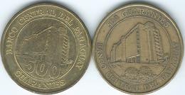 Paraguay - 500 Guaraníes - 1997 (KM194) & 2002 (KM195) - Paraguay