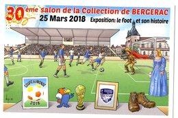 VEYRI  -  BERGERAC  -  30° SALON DE LA COLLECTION 2018  -  LE FOOT ET SON HISTOIRE - Veyri, Bernard