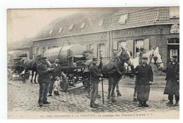 19- NOS DOUANIERS A L FRONTIERE - Le Passage Des Chevaux à La Toise - E.C. 1919 - Douane