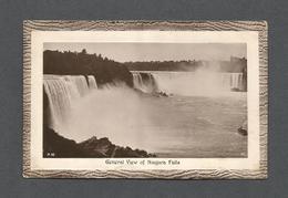 NIAGARA FALLS  - ONTARIO - GENERAL VIEW OF NIAGARA FALLS - BY F.H. LESLIE - Chutes Du Niagara
